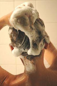 woman-hair-shampoo
