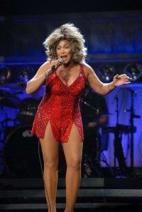Tina Turner performs at the Jobing.com Arena in Glendale Arizona