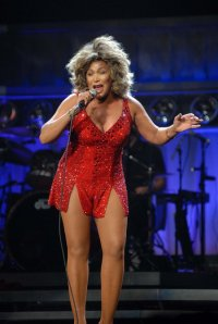 Tina Turner performs at the Jobing.com Arena in Glendale Arizona